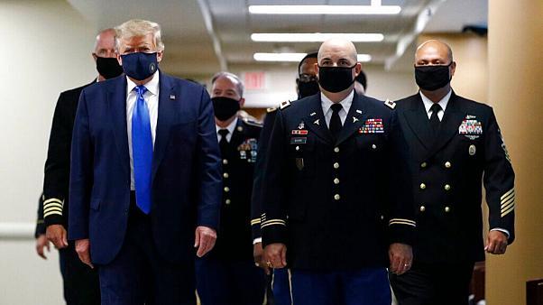 فوری | انتقال دونالد ترامپ به بیمارستان نظامی