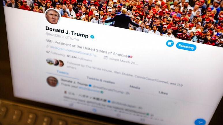 واکنش توییتر به کاربرانی که آرزوی مرگ ترامپ را دارند