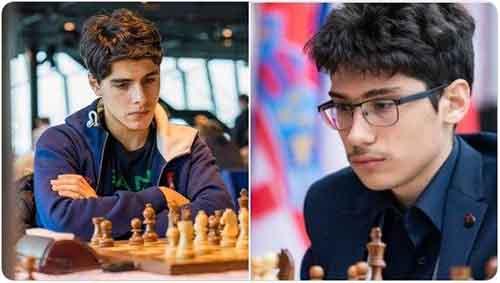 ۲شطرنجباز ایرانی زیر پرچمهای مختلف،مقابل هم!