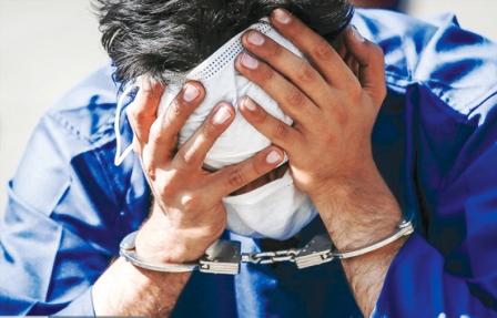 دستگیری قاتل متواری در بازار گل محلاتی
