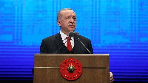 پاسخ تند اردوغان به اظهارات مکرون درباره اسلام