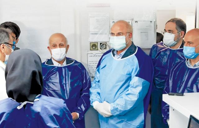 غائله حضور سرزده قالیباف به ICU بیماران کرونایی