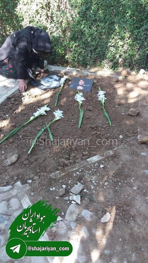 ببینید | نخستین تصویر از آرامگاه محمدرضا شجریان