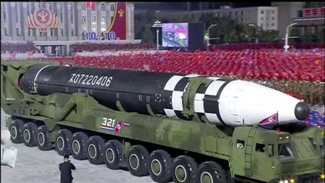 کره شمالی از جدیدترین موشکبالستیک قارهپیما رونمایی کرد