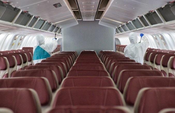 آیا ممکن است در هواپیما کرونا بگیریم؟