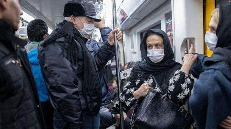ورود بدون ماسک به مترو ممنوع شد