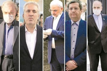 روزگار سخت پنج مدیر بد اقبال دولت روحانی