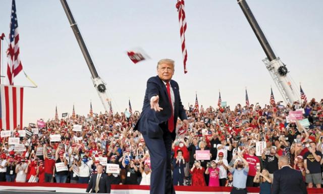 بازگشت ترامپ به رقابتهای انتخاباتی ۲۰۲۰