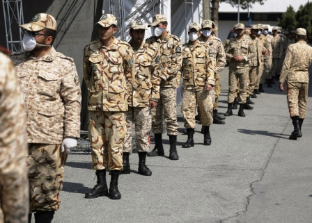 هجوم مشمولان به پلیس+۱۰ برای رفتن به سربازی