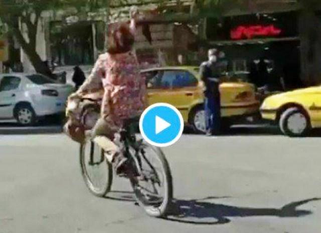 روایت خبرگزاری فارس از دستگیری زن دوچرخهسوار