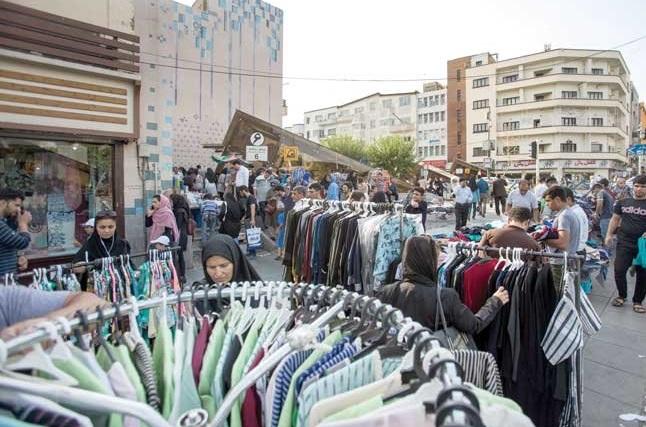 افزایش دستفروشی در پایتخت به دلیل شرایط کرونا