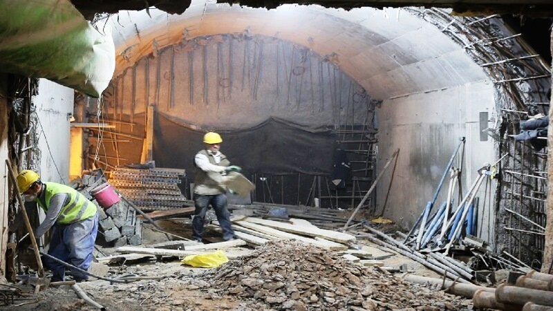 مرگ سهکارگر در حادثه ایستگاه مترو نواب