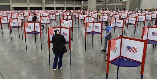انتخابات ریاستجمهوری آمریکا آغاز شد
