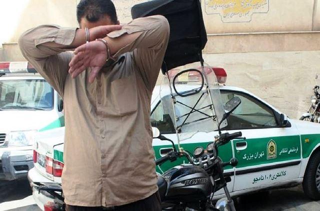 دستگیری راننده قمهکش بهاتهام آزار و اذیت زنان