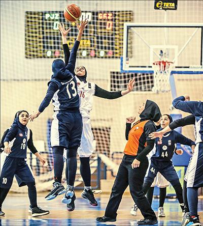 پخش زنده مسابقات بسکتبال زنان برای اولینبار
