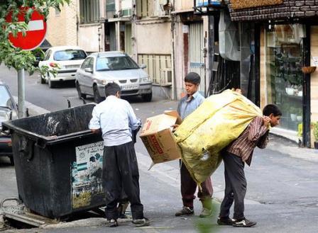 میلیاردها تومان درآمد و پارادوکس زبالهگردها