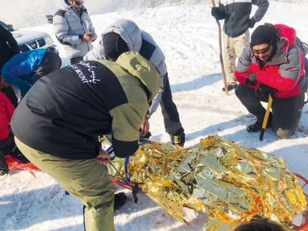 پایان تلخ عملیات نجات کوهنوردان گرفتار بهمن
