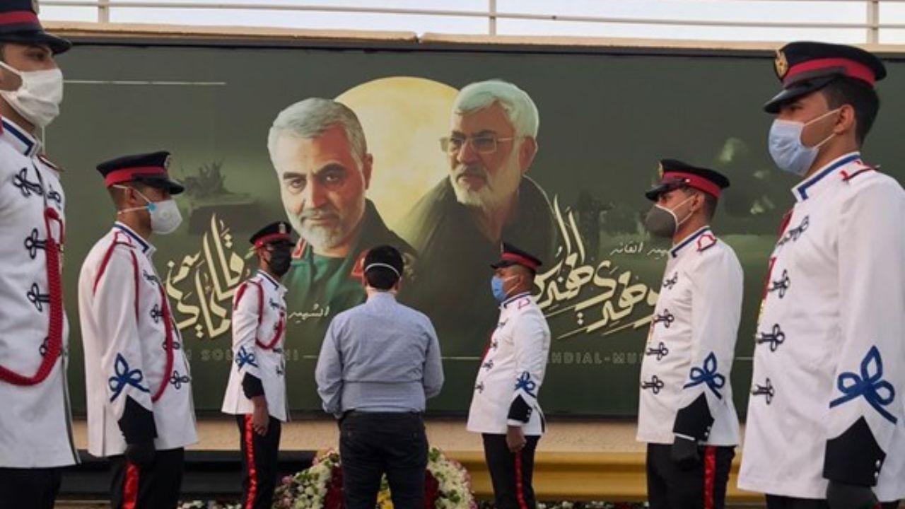 بازداشت عامل اهانت به تصویر سردار سلیمانی در غزه