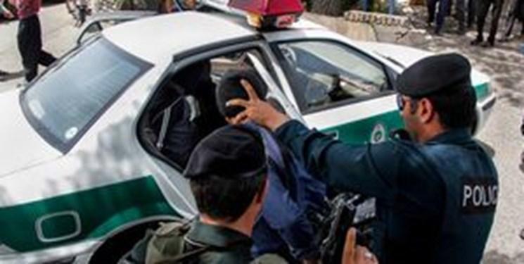درگیری مسلحانه اراذل و اوباش در تهران