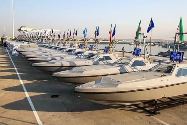٣۴٠ شناور به نیروی دریایی سپاه الحاق شد