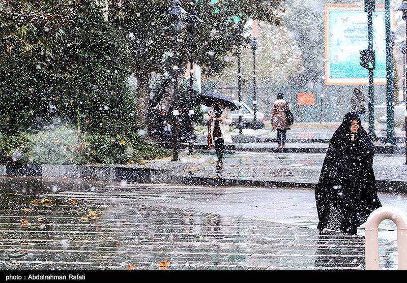 تشدید بارش باران و برف در کشور