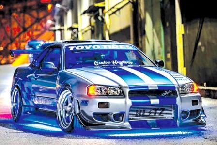 ۱۰۰اتومبیل برتر تاریخ؛ اسکایلاین GT-R