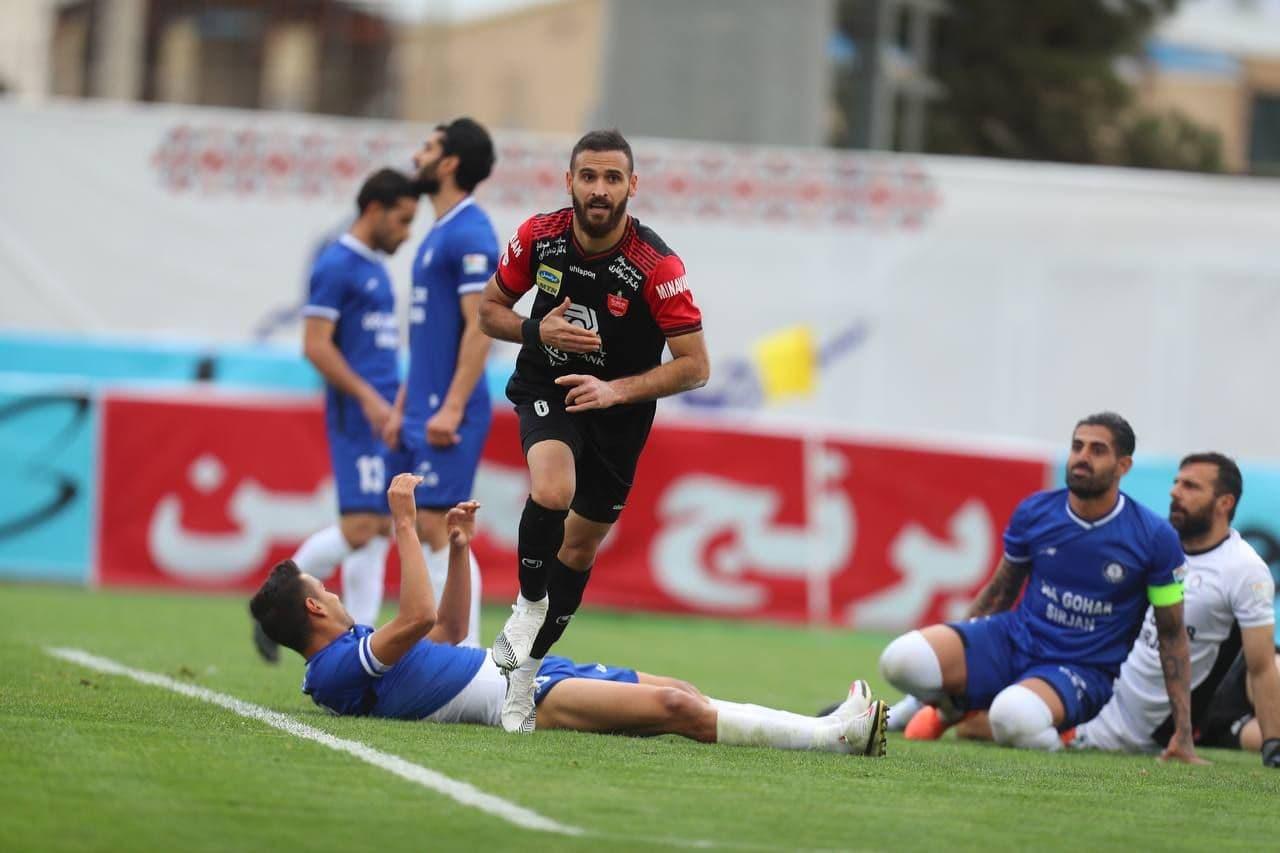 بهترینهای لیگ فوتبال ایران در پایان نیمفصل اول