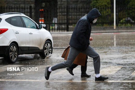 بارش باران و برف تا پنجشنبه