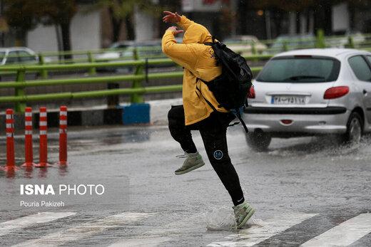 هشدار هواشناسی:این نقاط بارانی میشوند