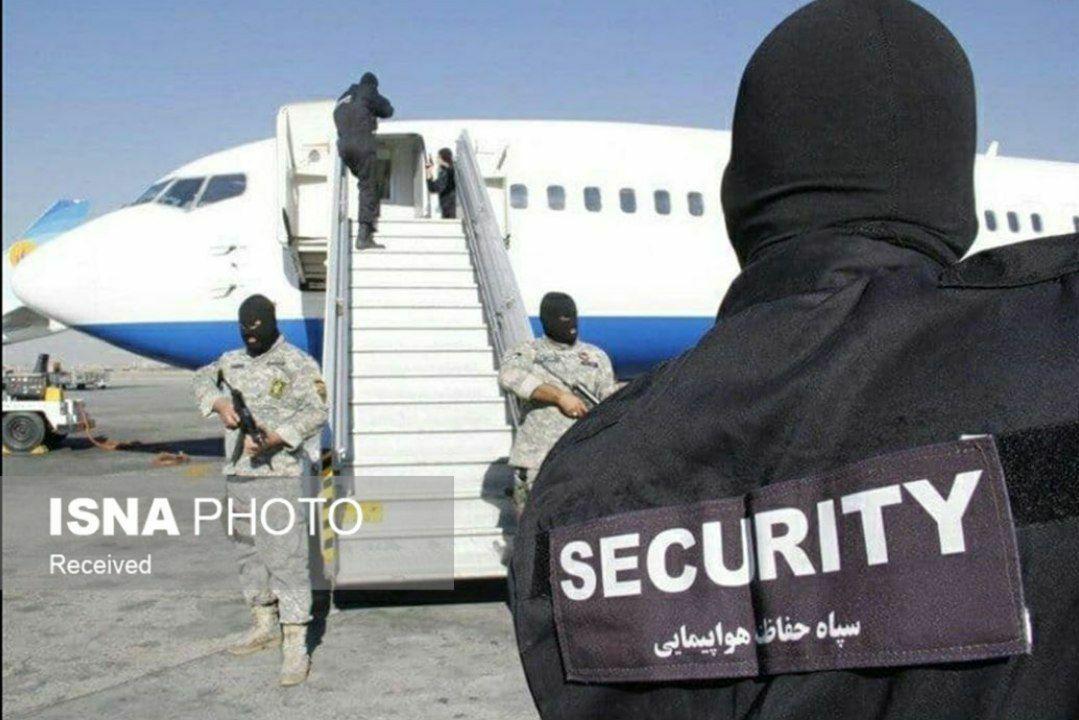 اولین عکس از هواپیماربایی پرواز اهواز به مشهد