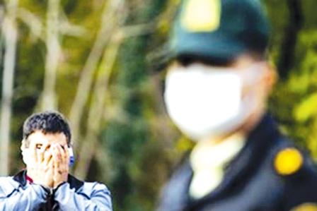 اقدام نافرجام سارق مسلح در زعفرانیه