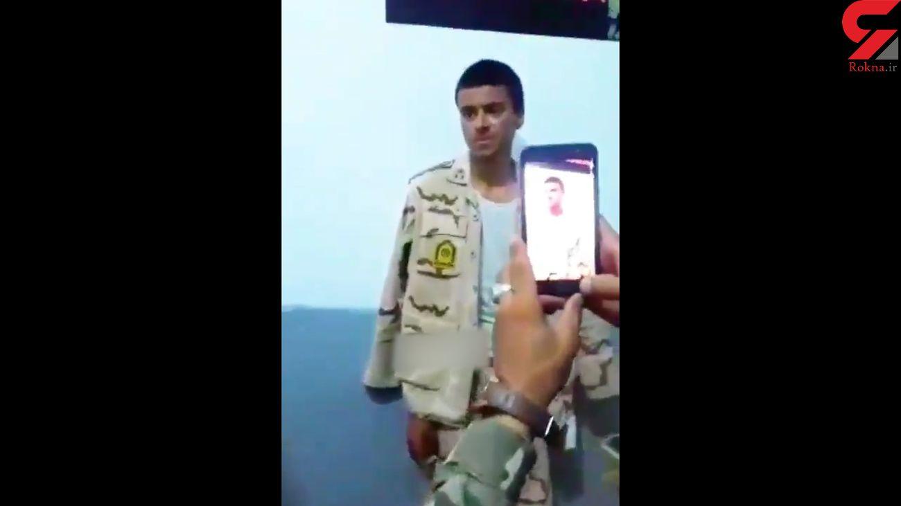 توضیح مرزبانی در خصوص انتشار فیلم سرباز ناجا