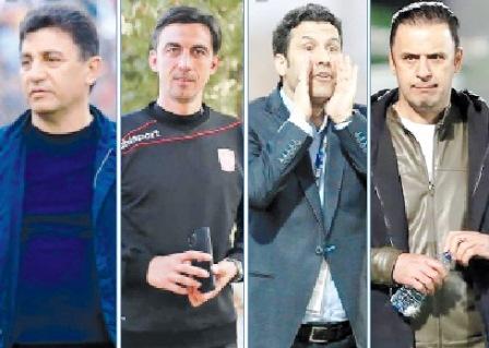 چهار سرمربی لیگ برتری در خطر اخراج