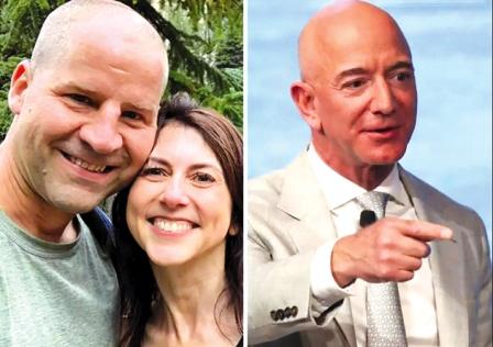 ماجرای ازدواج مجدد همسر سابق رئیس آمازون