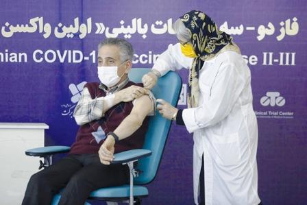 واکسن ایرانی کوو برکت ۹۰درصد ایمنی داد