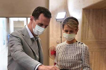 وضعیت بشار اسد و همسرش پس از ابتلا به کرونا