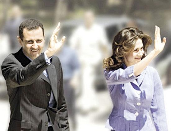 آخرین وضعیت بیماری کرونا بشار اسد و همسرش