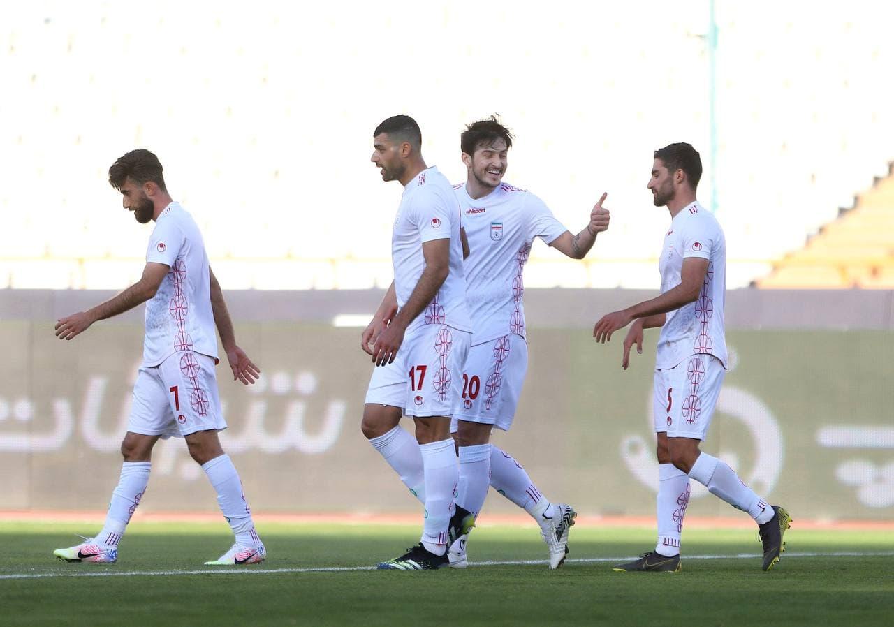 پیروزی تیمملی فوتبال ایران در دیدار دوستانه با سوریه