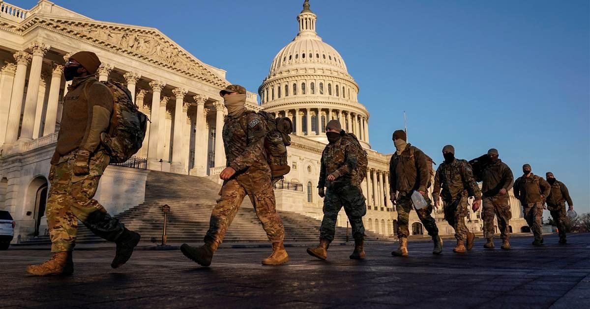 تیراندازی و تهدید امنیتی ساختمان کنگره آمریکا را مسدود کرد