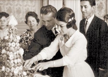 رکورد زناشویی اشرف پهلوی و مهدی بوشهری