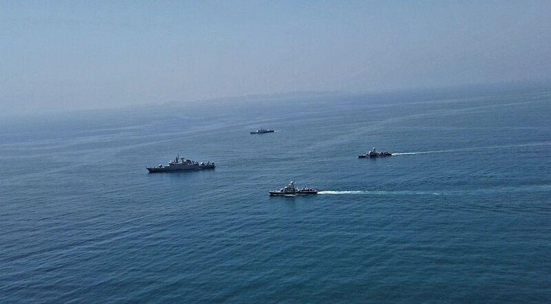 تمرین مرکب دریایی ارتش ایران و پاکستان پایان یافت