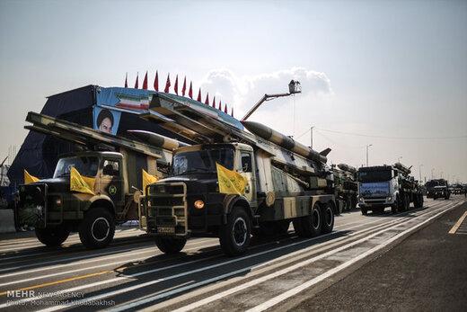تجهیزات شرکت کننده در رژه روز ارتش
