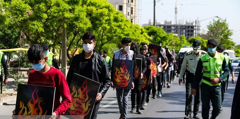 گرداندن متهمان حوادث چهارشنبه سوری در مشهد!