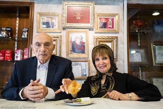 گرداننده قدیمیترین کافه قنادی تهران درگذشت