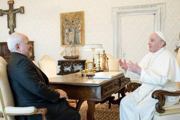 در دیدار ظریف با پاپ فرانسیس چه گذشت؟