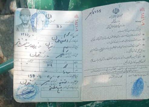 عکس تزریق واکسن کرونا به پیرترین مرد ایران