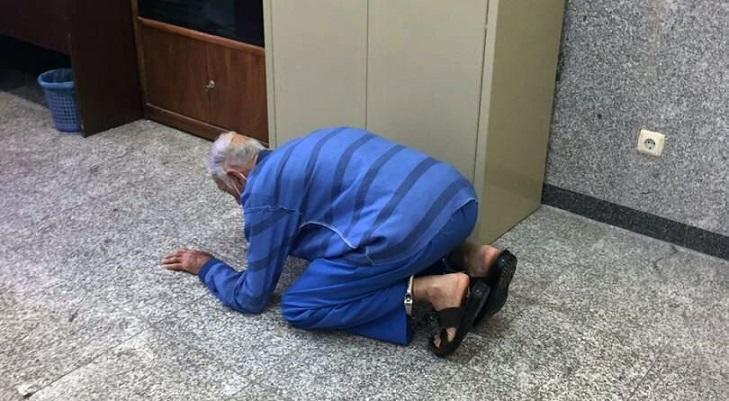 عکس   شکرگزاری پدر بابک خرمدین به خاطر قتل پسرش