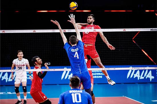 والیبال ایران به روسیه هم «نه» نگفت