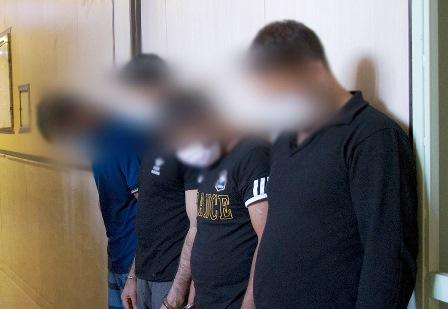 انهدام باند سارقان مسلح نقابدار در تهران