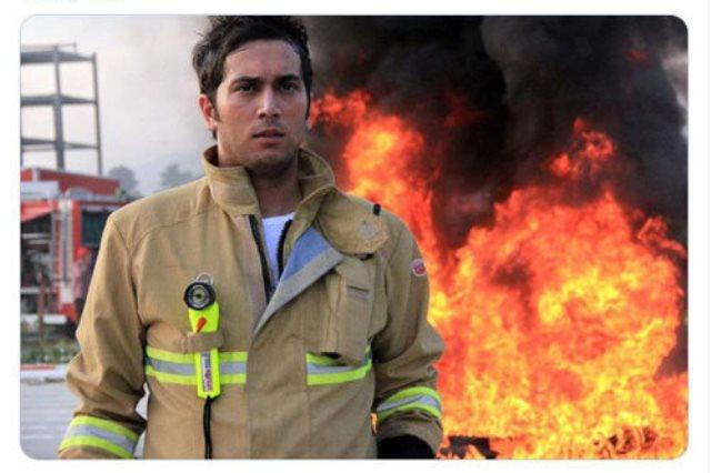 پسر عبدالناصر همتی بازیگر است یا آتشنشان؟